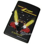 ZZ TOP ブラックマット・ジッポー ZZ TOP Black Matte Zippo