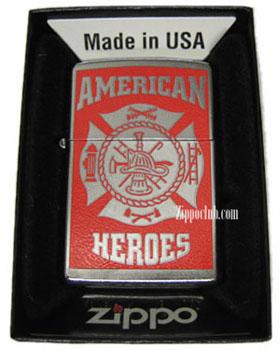 アメリカン・ヒーローズ・消防士・ジッポー