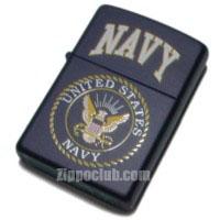 Navy Zippo