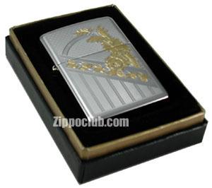 24カラット・ゴールド・フローラル・ジッポー 24 karat Gold Floral Zippo