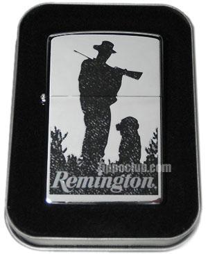 レミントン・ハンター&ドッグ・ジッポー Remington Hunter & Dog Zippo