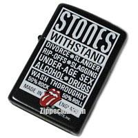 ローリングストーンズ・ウィズスタンド・ジッポー Rolling Stones Withstand Zippo