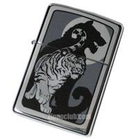 タイガー・ウィズ・シャドウ・ジッポー Tiger with Shadow Zippo