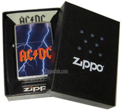 AC/DC (Lightning) ストリートクロムZIPPO