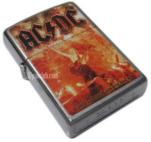AC/DC (Live at River Plate) ストリートクロムZIPPO