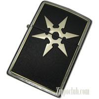 シックス・スローイング・スター・エンブレム・ジッポー 6 Throwing Star Emblem Zippo