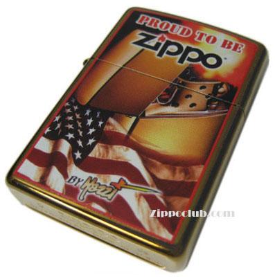 ジッポー・フラッグ Zippo Flag by Mazzi