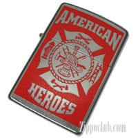 アメリカンヒーロー・消防士ZIPPO