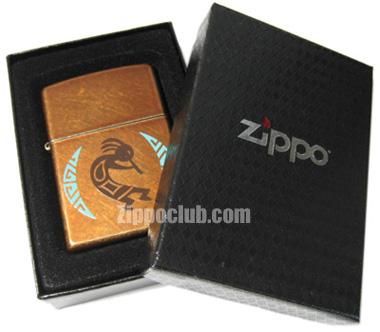 ココペリ・ジッポー Kokopelli Zippo