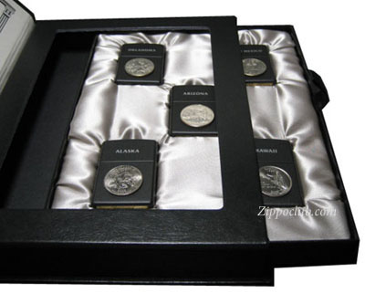 ステイト・クオーターズ・ジッポーVol.10 State Quarters Zippo Collection