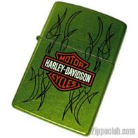 ハーレーダビッドソン・バー&シールド・ルアーリッド・ジッポー H-D Bar & Shield Lurid Zippo