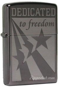 イラク・フリーダム・ジッポー Zippo Dedicated To Freedom
