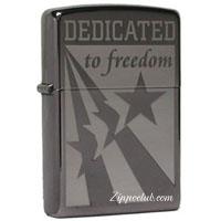 イラク フリーダム ジッポー Dedicated To Freedom