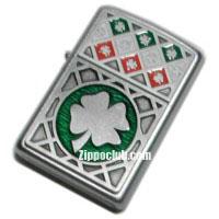 ラック・オブ・アイリッシュ・エンブレム・ジッポー Luck of the Irish Emblem Zippo