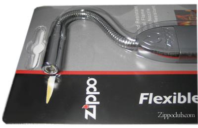 ZIPPOフレック・ネック・ユーティリティ・ライター(サテン・シルバー) Flex Neck Utility Lighter Sliver