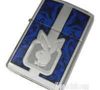 プレイボーイ・ブルー Playboy Blue Zippo