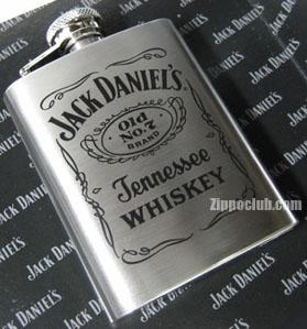 ジャックダニエル・ライター&フラスコ・ギフトセット JD Lighter & Flask Set