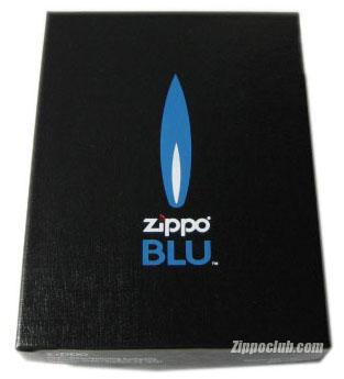 ZIPPO BLU ヴァーティカル・クロム (Vertical Chrome)