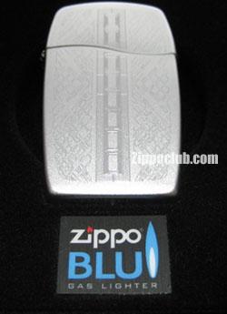ジッポー・ブルー・ジップド ZIPPO BLU ZIPPED