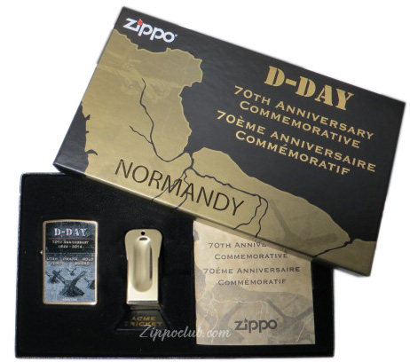 D-DAY70周年記念ジッポーライター D-DAY 70th Anniversary Commemorative