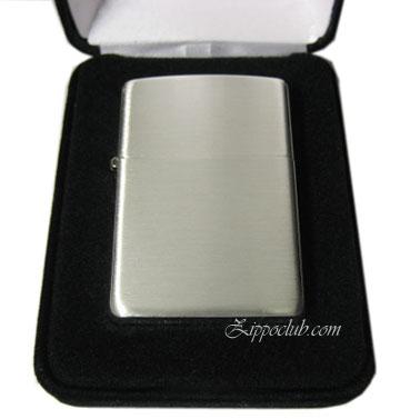 ブラッシュド・フィニッシュ・スターリングシルバーZIPPO Brushed Finish Sterling Silver