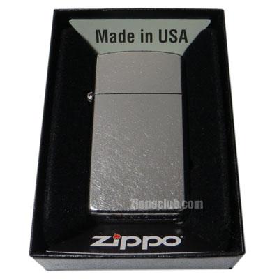 スリム・ストリート・クロム - Zippo Slim Street Chrome