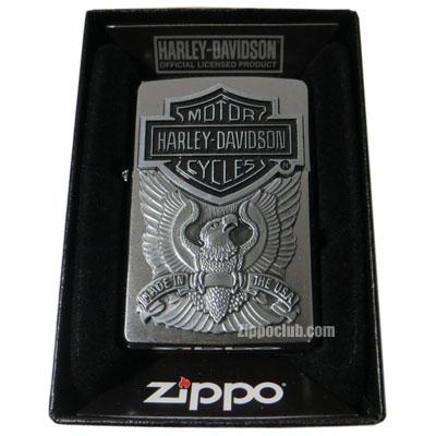ハーレーダビッドソン・メイドインUSAエンブレム・ジッポー H-D Made in USA Emblem