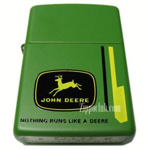 ジョンディア・ナンシング・ランズ・ジッポー John Deere Nothing Runs Zippo