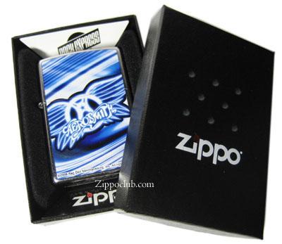 エアロスミスのロゴがプリントされたZIPPO