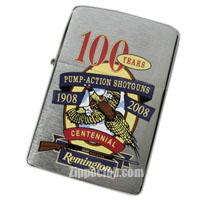 レミントン・ショットガン100周年記念のZIPPO