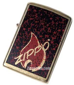 ZIPPOのロゴをレトロにアレンジ- Retro Flame