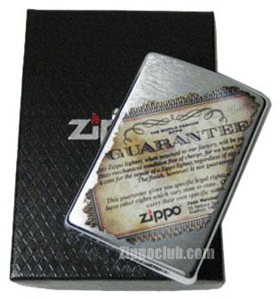 ライフタイム・ギャランティー Zippo Lifetime Guarantee