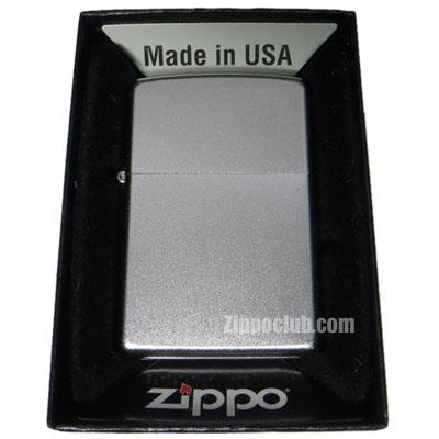 サテン・クロム・ジッポー Zippo Satin Chrome