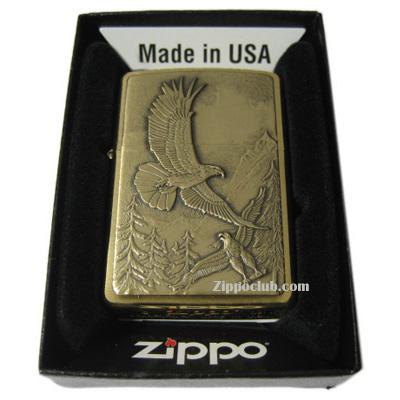 ホエア・イーグルズ・デアー・エンブレム - Zippo Where Eagles Dare Emblem