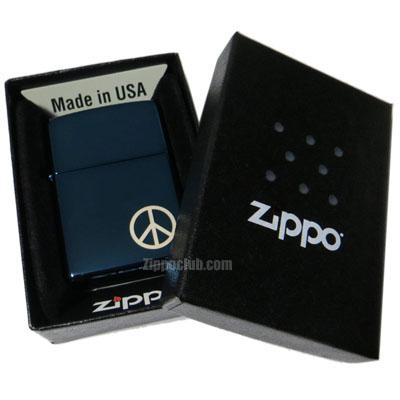 ピース・オン・ザ・サイド・ジッポーライター Peace On The Side Zippo