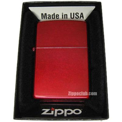 キャンディ・アップル・レッド・ジッポー Candy Apple Red Zippo