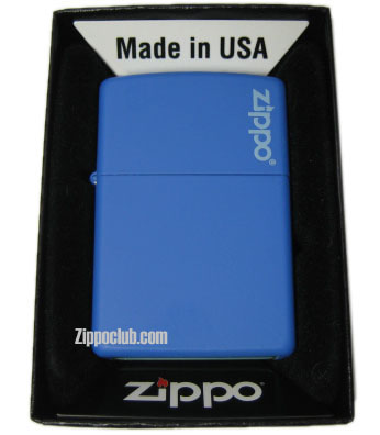 ブルベリー・マット・ウィズ・ジッポー・ロゴ Blueberry Matte w/Zippo logo