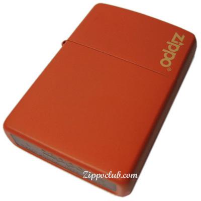 オレンジマット・ウィズ・ジッポー・ロゴ Orange Matte w/Zippo logo