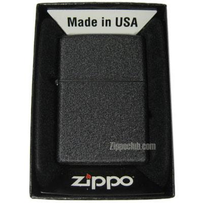 ブラック・クラッケル・ジッポー Black Crackle Zippo