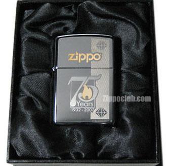 ZIPPO社創立75周年記念ジッポー 通常版 75th Anniversary Commemorative Zippo