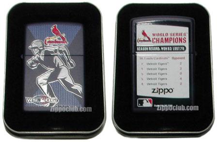 2006ワールド・シリーズ・チャンピオン・セントルイス カージナルスの限定ZIPPO
