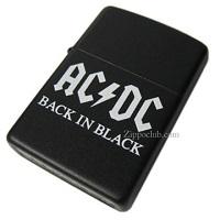 AC/DC バック・イン・ブラック・ジッポー AC/DC Back In Black Zippo