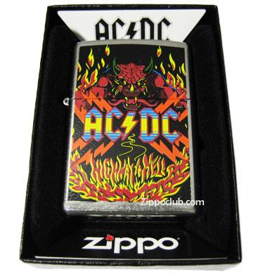 AC/DC ハイウェイ・トゥ・ヘル・ジッポー AC/DC Highway To Hell Zippo