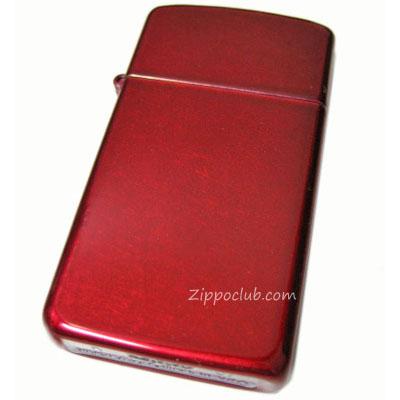 スリム・キャンディ・アップル・レッド・ジッポー Slim Candy Apple Red Zippo