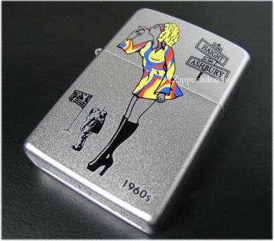 ウィンディ・ガール1960s - Windy Girl 1960s Zippo