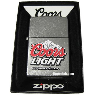クアーズ・ライト・ジッポー Coors Light Zippo