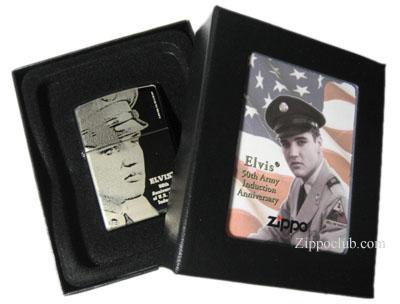 エルビス・ミリタリー・インダクション Zippo Elvis Military Induction