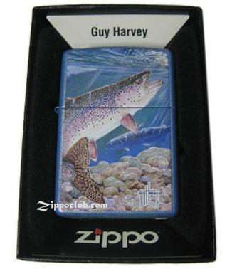 ジーエイチ・レインボー・トラウト・ジッポー GH Rainbow Trout Zippo