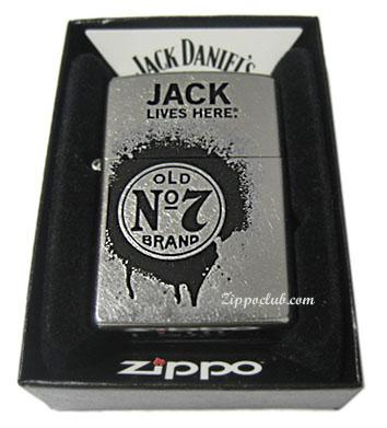 ジャック・ダニエルズ・ストリートクロム・ジッポー Jack Daniel's Street Chrome Zippo