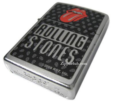 ローリング・ストーンズ・ジッポー Rolling Stones Street Chrome